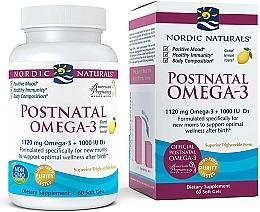 "Fragrances, Perfumes, Cosmetics Dietary Supplement for Young Moms ""Omega-3"" - Nordic Naturals Postnatal Omega-3 Lemon Flavor"