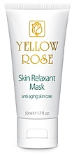 Fragrances, Perfumes, Cosmetics Relaxant Mask with Botox Effect (tube) - Yellow Rose Skin Relaxant Mask