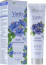 "Fragrances, Perfumes, Cosmetics Depilatory Cream ""Hibiscus"" - Bielenda Vanity Soft Touch Hibiscus"