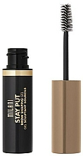 Fragrances, Perfumes, Cosmetics Brow Gel - Milani Stay Put Brow Shaping Gel