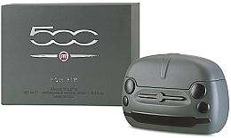 Fragrances, Perfumes, Cosmetics Fiat 500 For Him - Eau de Toilette