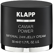 "Fragrances, Perfumes, Cosmetics Jelly Cream ""Caviar Enegrgy Imperial"" - Klapp Caviar Power Imperial 24H Jelly Cream"