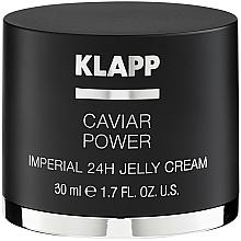 "Fragrances, Perfumes, Cosmetics Jelly Cream ""Caviar Enegrgy Imperial"" - Klapp Caviar Power Imperial 24H Jelly Cream"