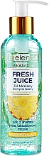 Fragrances, Perfumes, Cosmetics Skin Glowing Micellar Gel - Bielenda Fresh Juice Micellar Gel Pineapple