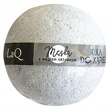 Fragrances, Perfumes, Cosmetics Men Bath Bomb with Activated Carbon - LaQ Bath Bomb