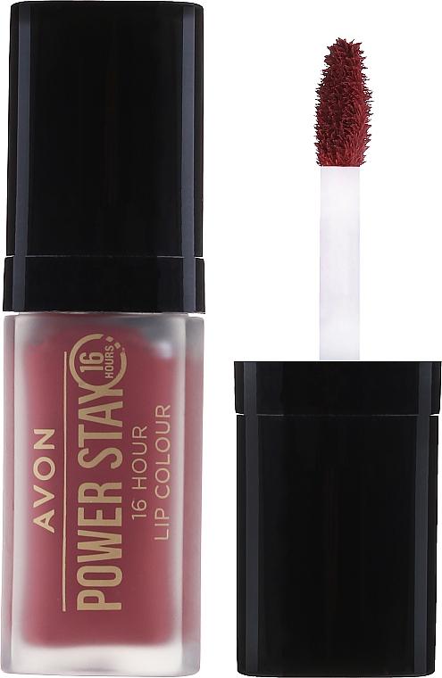 """Liquid Lipstick """"Super Stay"""" - Avon Power Stay 16-Hour Matte Lip Color"""