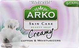 Fragrances, Perfumes, Cosmetics Soap - Arko Beauty Soap Creamy Cotton & Cream