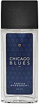 Fragrances, Perfumes, Cosmetics Vittorio Bellucci Chicago Blues - Perfumed Deodorant