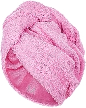 Fragrances, Perfumes, Cosmetics Hair Drying Turban, pink - MakeUp