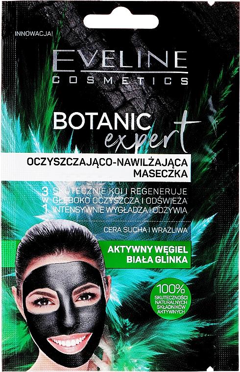 Face Mask - Eveline Cosmetics Botanic Expert Purifying And Moisturising Face Mask