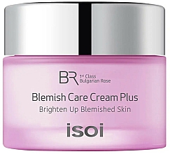 Fragrances, Perfumes, Cosmetics Anti Acne & Dark Spot Treatment Cream - Isoi Bulgarian Rose Blemish Care Cream Plus
