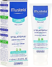Fragrances, Perfumes, Cosmetics Smoothing Face Cream - Mustela Bebe Stelatopia Emollient Cream