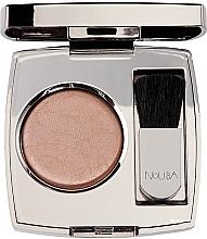 Fragrances, Perfumes, Cosmetics Compact Blush - Nouba Blushow Baked Blush Silver Case