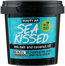 "Fragrances, Perfumes, Cosmetics Face and Body Scrub ""Sea Kissed"" - Beauty Jar Rejuvenating Body And Face Scrub"