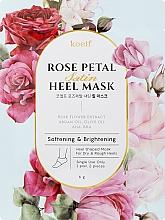 Fragrances, Perfumes, Cosmetics Softening Heel Mask - Petitfee&Koelf Rose Petal Satin Heel Mask
