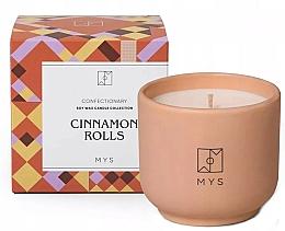 "Fragrances, Perfumes, Cosmetics Soy Candle ""Cinnamon Rolls"" - Mys Cinnamon Rolls Candle"