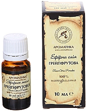 "Fragrances, Perfumes, Cosmetics Essential Oil ""Grapefruit"" - Aromatika"