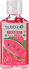 "Fragrances, Perfumes, Cosmetics Antibacterial Hand Gel ""Watermelon"" - Bubble T Watermelon Hand Cleansing Gel"