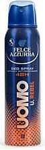 Fragrances, Perfumes, Cosmetics Deodorant Antiperspirant - Felce Azzurra Deo Rebel
