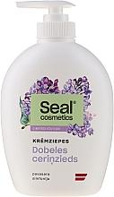 "Fragrances, Perfumes, Cosmetics Cream-Soap ""Lilac"" - Seal Cosmetics Cream Soap Limited Edition"