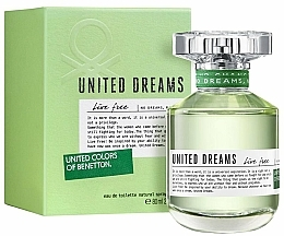 Fragrances, Perfumes, Cosmetics Benetton United Dreams Live Free - Eau de Toilette