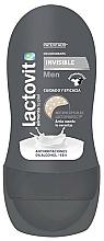 Fragrances, Perfumes, Cosmetics Roll-On Deodorant - Lactovit Men Invisible Deodorant Roll-On