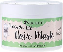 Fragrances, Perfumes, Cosmetics Hair Mask - Nacomi Natural With Keratin & Avocado Oil Hair Mask