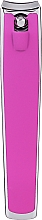 Fragrances, Perfumes, Cosmetics Large Nail Clippers, 499126, pink - Inter-Vion