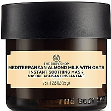 """Fragrances, Perfumes, Cosmetics Soothing Face Mask """"Almond Milk & Oats"""" - The Body Shop Mediterranean Almond Milk And Oats Instant Soothing Mask"""