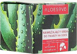 Fragrances, Perfumes, Cosmetics Moisturizing Face Day Cream - Aloesove