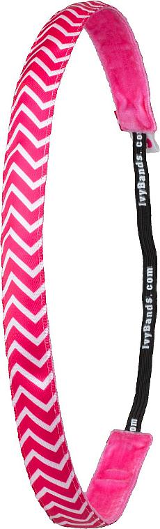 "Hairband ""Chevron Pink"" - Ivybands"