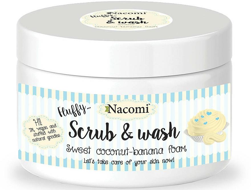 "Washing Peeling Foam ""Coconut & Banana"" - Nacomi Scrub and Wash Sweet Coconut-Banana Foam"