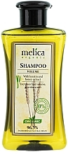 "Fragrances, Perfumes, Cosmetics Keratin and Honey Extract Shampoo ""Volume"" - Melica Organic Volume Shampoo"