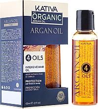 "Fragrances, Perfumes, Cosmetics Restoring Protective Hair Concentrate ""4 Oils"" - Kativa Argan Oil"