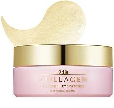 Fragrances, Perfumes, Cosmetics Collagen Hydrogel Eye Patches - Missha 24K Collagen Hydro Gel Eye Patches