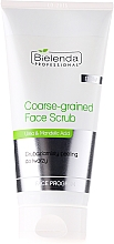 Fragrances, Perfumes, Cosmetics Scrub for Oily Face - Bielenda Professional Face Program Coarse-Grained Face Peeling