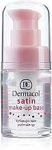 Fragrances, Perfumes, Cosmetics Soothing Makeup Base - Dermacol Satin Base Make-Up