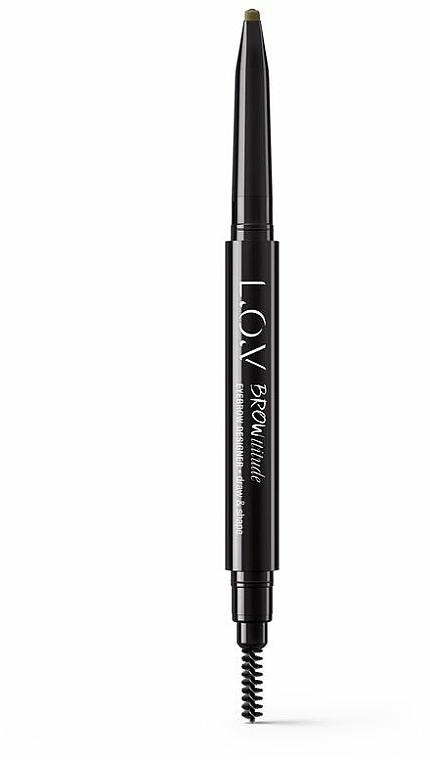 Brow Pencil - L.O.V Browttitude Eyebrow Designer — photo N3
