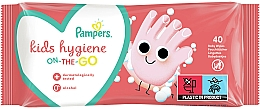 Fragrances, Perfumes, Cosmetics Baby Wet Wipes, 40 pcs - Pampers Kids On The Go
