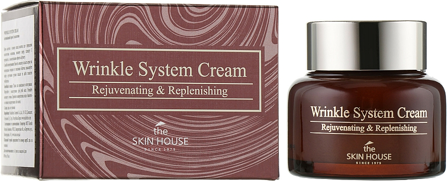 Anti-Aging Collagen Cream - The Skin House Wrinkle System Cream
