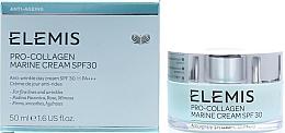 Fragrances, Perfumes, Cosmetics Face Cream - Elemis Pro-Collagen Marine Cream SPF30