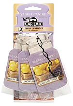 "Fragrances, Perfumes, Cosmetics Air Freshener ""Lemon with Lavender"" - Yankee Candle Fluffy Lemon Lavender Jar Ultimate"