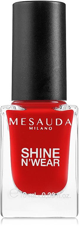 Nail Polish - Mesauda Milano Shine N`Wear Nail Polish