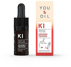 Fragrances, Perfumes, Cosmetics Essential Oil Blend - You & Oil KI-Concentration Touch Of Welness Essential Oil