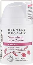 Fragrances, Perfumes, Cosmetics Nourishing Cream for Normal Skin - Bentley Organic Skin Blosso Nourishing Face Cream