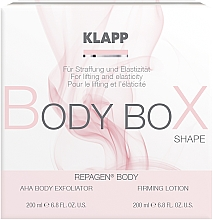 Fragrances, Perfumes, Cosmetics Set - Klapp Repagen Body Box Shape (peel/200ml + b/lot/200ml)