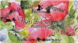 "Fragrances, Perfumes, Cosmetics Natural Soap ""Wild Flowers"" - Florinda Sapone Vegetale Vegetal Soap Wild Flowers"