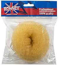 Fragrances, Perfumes, Cosmetics Hair Bun, 11x4.5 cm, beige - Ronney Professional Hair Bun