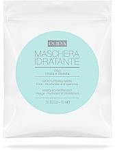 Fragrances, Perfumes, Cosmetics Moisturizing Face Sheet Mask - Pupa Maschera Idratante Viso