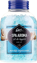 Fragrances, Perfumes, Cosmetics Bath Salt, blue - Cari Spa Aroma Salt For Bath